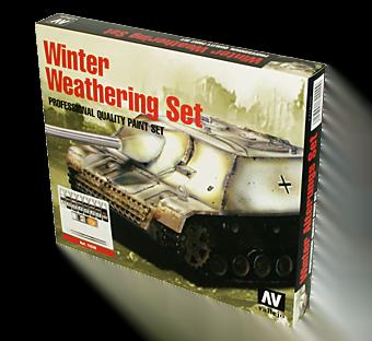 Winter Weathering Set by Vallejo 72220