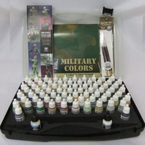 Military Colors Colours Acrylic Paint Set by Vallejo 70173