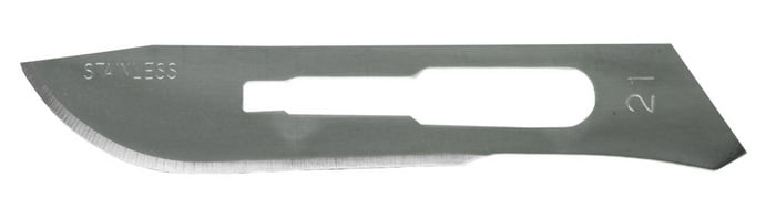 No 21 Surgical Blade 2 pieces by Excel 21