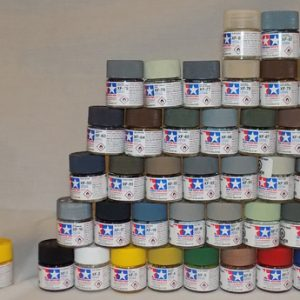 Full Set of 33 X and 70 XF Tamiya Acrylic Paints