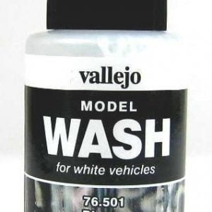 Model Wash for Weathering by Vallejo White 76501