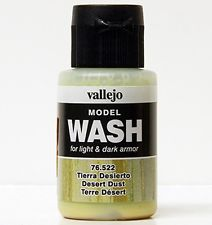 Model Wash for Weathering by Vallejo Dark Yellow 76503
