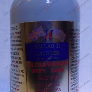 Alclad II ALC 316 Gloss Medium Grey Gray Base