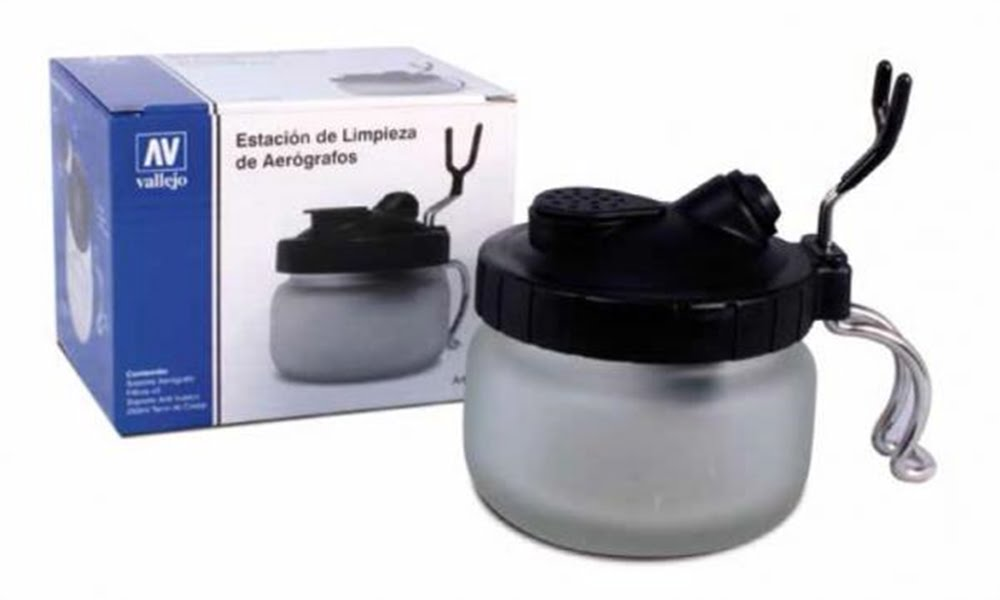 0bff335afd23 Vallejo Airbrush Cleaning Pot VAL 26005