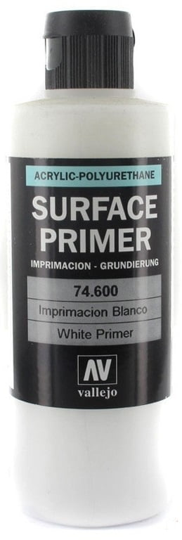200ml Vallejo Model Color Colour 74600 White Surface Primer