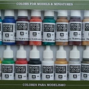 Medieval Colors Paint Set by Vallejo 70142