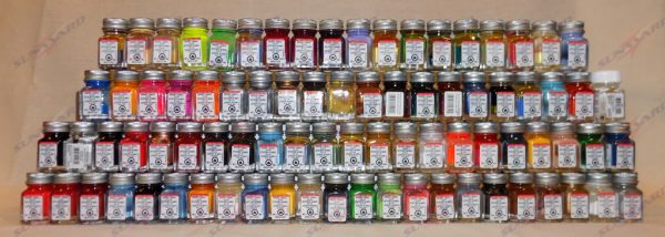 Full Set of 83 Testors Enamel Colors Colours Colors Paints