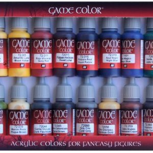 Game Color Colour Advanced Paint Set by Vallejo 72298