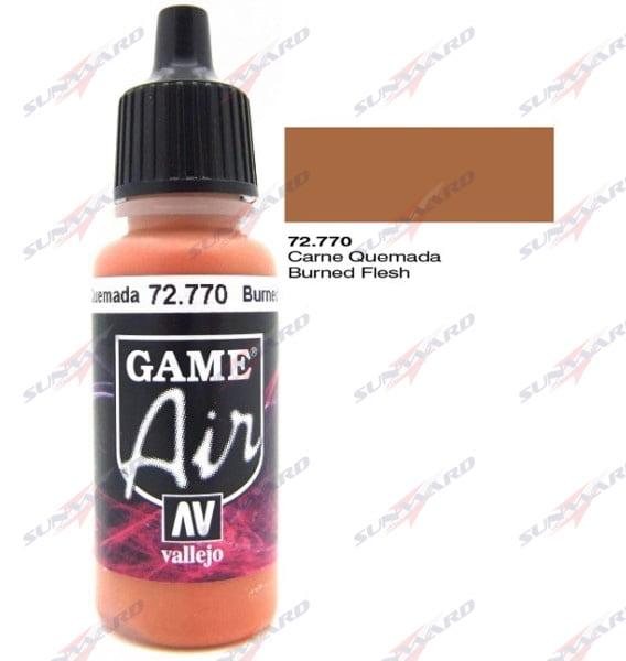 Vallejo Game Air Color Colour Burned Flesh 72770