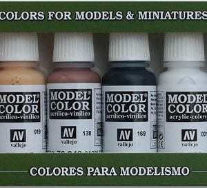 Wargames Basics Paint Set of 8 by Vallejo 70103