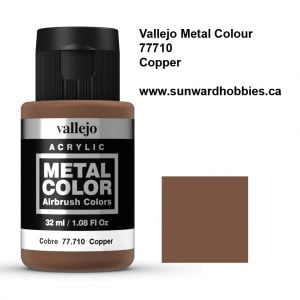 Copper Metal Color Colour by Vallejo 77710