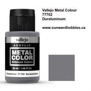 Duraluminum Metal Color Colour by Vallejo 77702