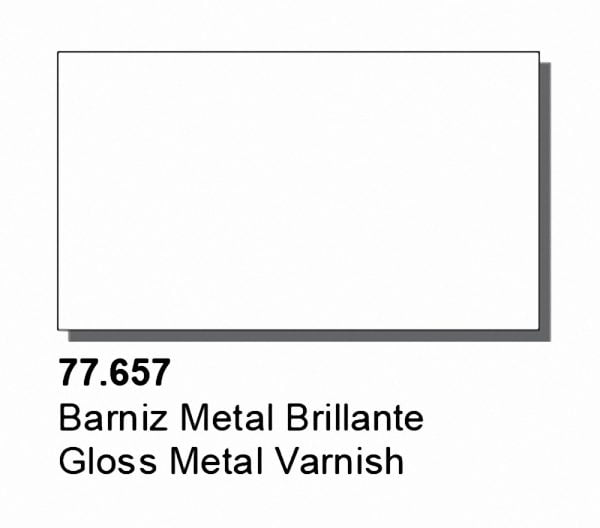 Gloss Varnish Metal Color Colour by Vallejo 77657