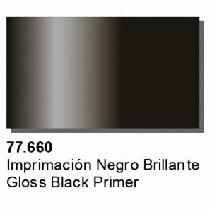 Metal Color Gloss Black Primer by Vallejo 77660