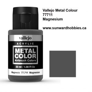 Magnesium Metal Color Colour by Vallejo 77711