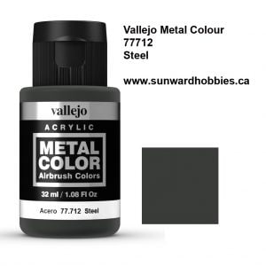Steel Metal Color Colour by Vallejo 77712