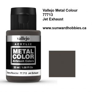 Jet Exhaust Metal Color Colour by Vallejo 77713