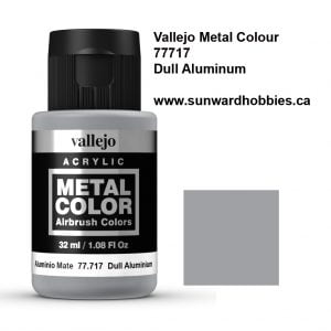 Dull Aluminum Metal Color Colour by Vallejo 77717
