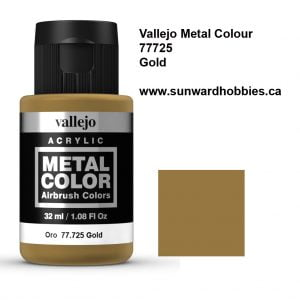 Gold Metal Color Colour by Vallejo 77725