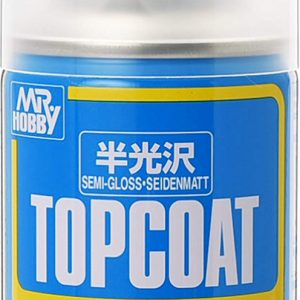 MR TOP COAT Semi-Gloss SPRAY GUZ-B502 B502