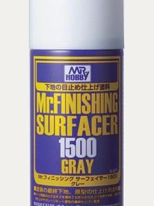Mr Finishing Surfacer 1500 Grey Gray Spray GUZ-B527 B527