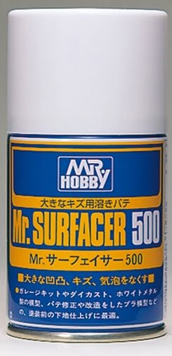 Mr Surfacer 500 Spray 100ml by Mr Hobby GUZ-B506 B506