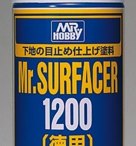 Mr Surfacer 1200 Spray 170ml by Mr Hobby Gunze GUZ-B515 B515