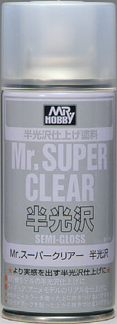 Mr Super Clear Semi Gloss 170ml Spray GUZ-B516 B516