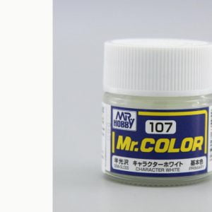 Semi Gloss Character White by Mr Color GUZ-C107 107