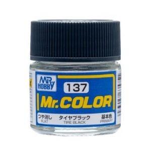 Flat Tire Black by Mr Color GUZ-C137 137