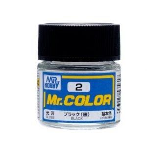 Gloss Black by Mr Color GUZ-C2 2