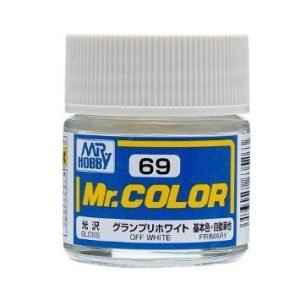 Gloss Off White by Mr Color GUZ-C69 69