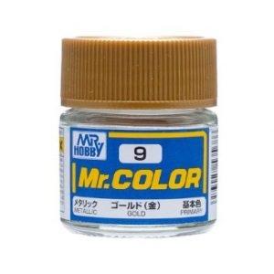 Metallic Gold by Mr Color GUZ-C9 9