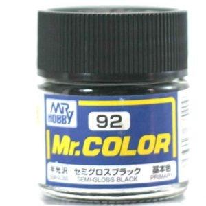 Semi Gloss Black by Mr Color GUZ-C92 92
