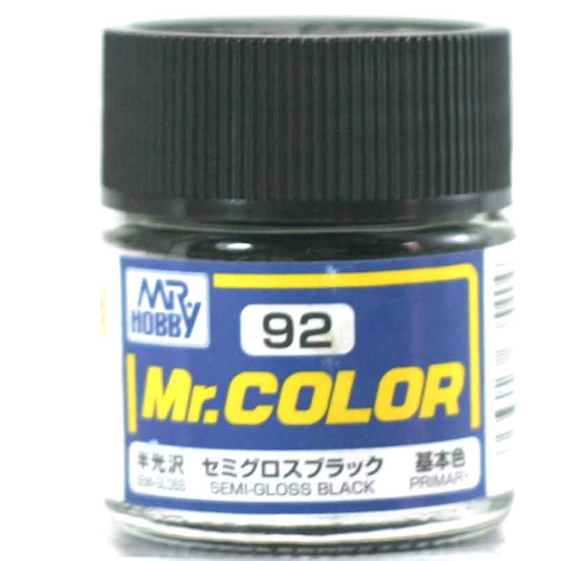 Semi Gloss Black By Mr Color Guz C92 92