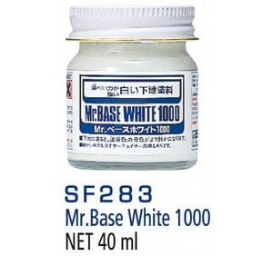 Mr Base White 1000 by Mr Hobby 40ml GUZ-SF283 SF283