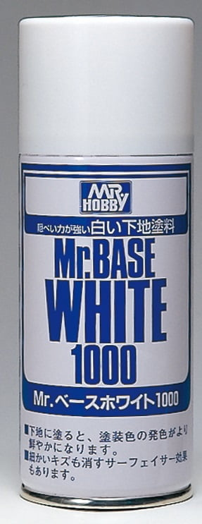 MR BASE WHITE 1000 SPRAY GUZ-B518 B518