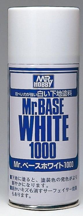 MR BASE WHITE 1000 SPRAY GUZ-B518 B518