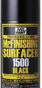 MR FINISHING SURFACER 1500 BLACK SPRAY GUZ-B526 B526