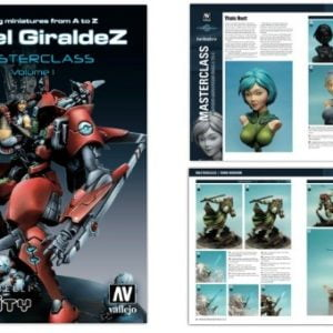 Painting Miniatures from A to Z by Angel Giraldez Masterclass Vol 1