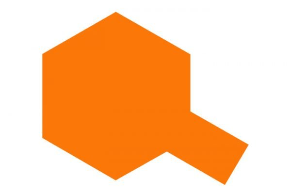 Tamiya Polycarbonate Spray Paint PS-62 PS62 Pure Orange 86062
