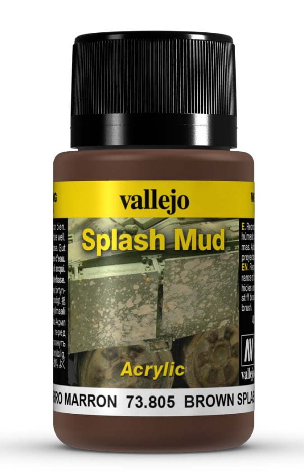 Brown Splash Mud by Vallejo 73805