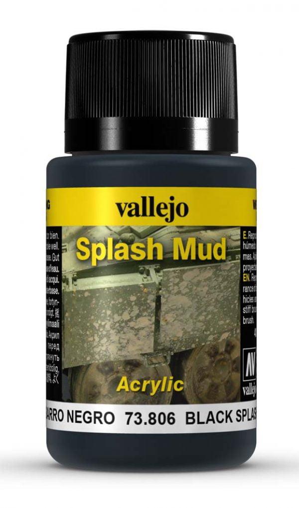 Black Splash Mud by Vallejo 73806