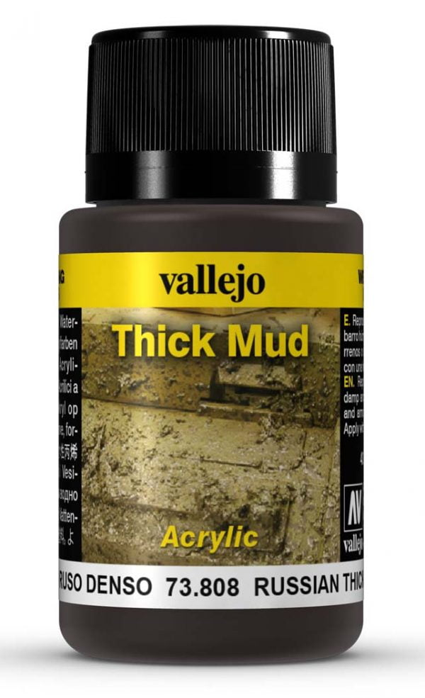 Russian Mud Thick Mud by Vallejo 73808