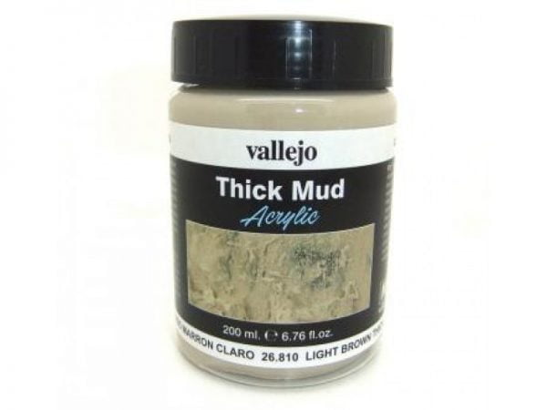 Light Brown Mud Thick Mud by Vallejo 26810 view