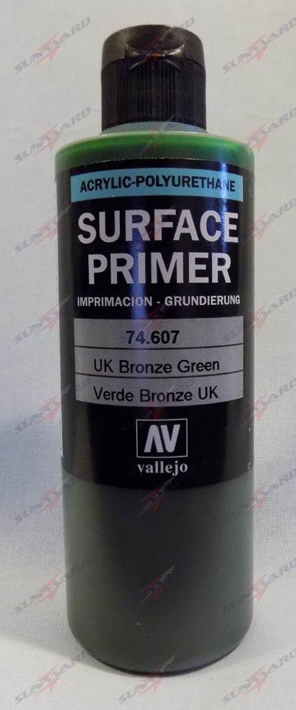 200ml Vallejo Primer Model Color Colour 74607 U.K. Bronze Green