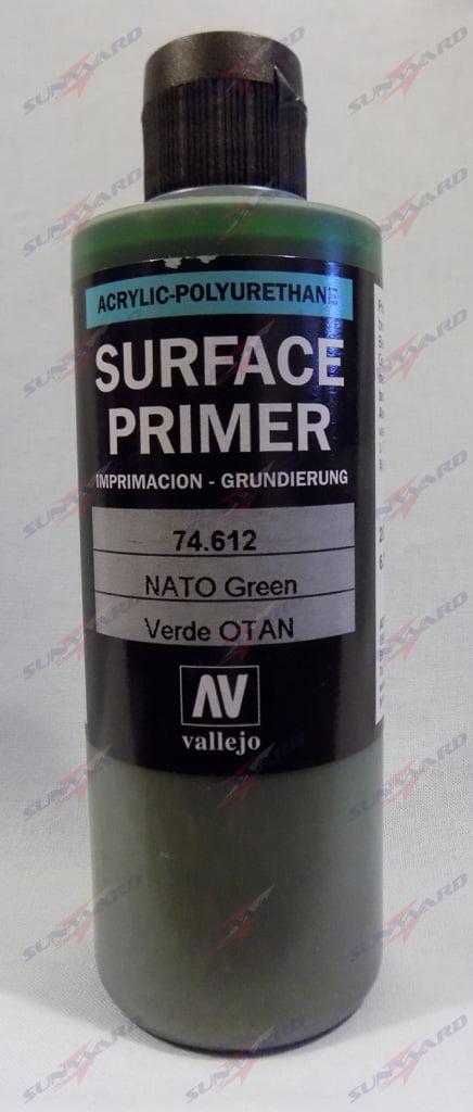 200ml Vallejo Primer Model Color Colour 74612 NATO Green