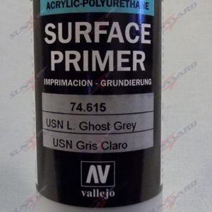 200ml Vallejo Primer Model Color Colour 74615 USN Light Ghost Grey Gray
