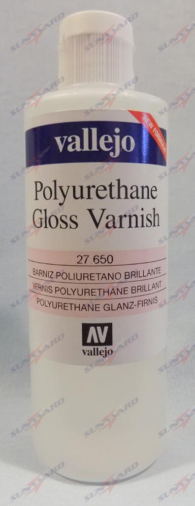 Gloss Polyurethane Varnish by Vallejo 27650 200ml