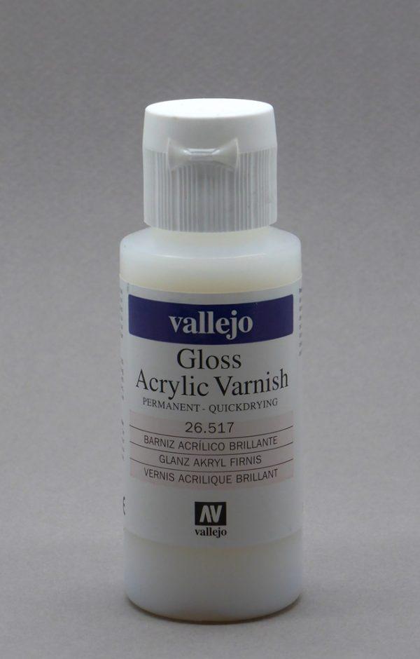 Vallejo Model Color Colour Gloss Glossy Varnish 26517 60ml